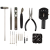 16 Piece Watch Repair Kit- DIY Tool Set for Repairing Watches Includes Screwdrivers, Spring Bar Remover, Tweezers, Link Remover and More by Stalwart