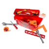 40-Piece Toy Tool Box Set-Pretend Play Construction Handyman Set for Boys and Girls-Includes Hammer, Screwdrivers, Drill, Bolts and More by Hey! Play!