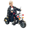 3 Wheel Chopper Trike Motorcycle for Kids, Battery Powered Ride On Toy by Lil? Rider ? Ride on Toys for Boys and Girls, Toddler and Up - Black