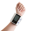 Automatic Wrist Blood Pressure Monitor with Digital LCD Display Screen- Fast BP and Pulse Monitoring and Adjustable Wrist Cuff by Bluestone