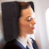 Travel Pillow Designed by Physical Therapist- Memory Foam Curve Support, Posture, Neck Shoulder Head and Spinal Pain Relief- World Pillow by Bluestone