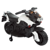 Ride on Toy, 2 Wheel Motorcycle with Training Wheels by Lil' Rider - Battery-Powered Ride-on Toy for Toddlers Boys and Girls 2-5 Years Old - White