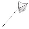 Fishing Net with Telescoping Handle- Collapsible and Adjustable Landing Net with Corrosion Resistant Handle and Carry Bag By Wakeman Outdoors (83?)