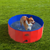 Pet Pool and Bathing Tub-Foldable with Carrying Bag Included, Travel Friendly Tub for Bathing or Playtime-For Dogs, Cats and More, 30x12 by Petmaker