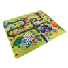 Baby Play Mat for Kids, Microfiber Flannel Fleece & Foam Mat with Non Slip Back and City Scene for Toddlers, Boys and Girls by Hey! Play!