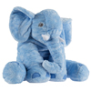 Elephant Stuffed Animal Toy- Plush, Soft Animal Pillow Friend for Infants, Toddlers, Boys, Girls and Adults by Happy Trails (Blue)