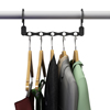 Space Saving Closet Organization Vertical and Horizontal Multi Hanger for Shirts, Pants, and Coats, All Your Dorm Room Essentials by Everyday Home