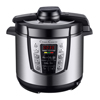 Multi-Cooker 4-in-1 Pressure Cooker, Slow Cooker, Rice Cooker, Steamer with 10 programmed settings and start delay timer ? 6 Quart by Classic Cuisine