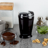 Coffee Bean Grinder- Electric Grinder with Manual On/Off Switch and Measuring Lid for Espresso, French Press, Spices, Herbs, Nuts by Classic Cuisine