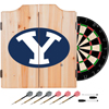 Brigham Young University Dart Cabinet Set with Darts and Board