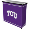 Texas Christian University Portable Bar with Case