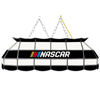 NASCAR 40 Inch Handmade Stained Glass Lamp