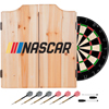NASCAR Dart Cabinet Set with Darts and Board
