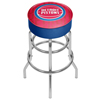NBA Padded Swivel Bar Stool - City  - Detroit Pistons