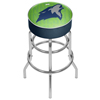NBA Padded Swivel Bar Stool - City  - Minnesota Timberwolves