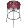 NBA Chrome Ribbed Bar Stool - City  - Cleveland Cavaliers