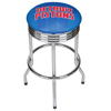 NBA Chrome Ribbed Bar Stool - Fade  - Detroit Pistons