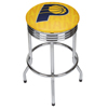 NBA Chrome Ribbed Bar Stool - City  - Indiana Pacers