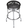 NBA Chrome Ribbed Bar Stool - Fade  - San Antonio Spurs