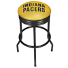 NBA Black Ribbed Bar Stool - Fade  - Indiana Pacers