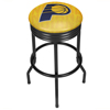 NBA Black Ribbed Bar Stool - City  - Indiana Pacers