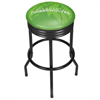 NBA Black Ribbed Bar Stool - Fade  - Minnesota Timberwolves