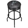 NBA Black Ribbed Bar Stool - City  - San Antonio Spurs