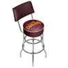NBA Swivel Bar Stool with Back - Fade  - Cleveland Cavaliers