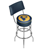 Indiana Pacers NBA Padded Swivel Bar Stool with Back