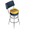 NBA Swivel Bar Stool with Back - Fade  - Indiana Pacers
