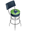 NBA Swivel Bar Stool with Back - City  - Minnesota Timberwolves