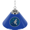Minnesota Timberwolves NBA Single Shade Bar Lamp - 14 inch