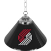 Portland Trail Blazers 14 inch Single Shade Bar Lamp