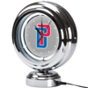 Detroit Pistons NBA Chrome Retro Style Tabletop Neon Clock