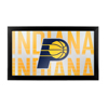 NBA Framed Logo Mirror - City  - Indiana Pacers