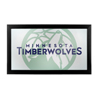NBA Framed Logo Mirror - Fade  - Minnesota Timberwolves