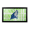 NBA Framed Logo Mirror - City  - Minnesota Timberwolves