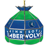 Minnesota Timberwolves NBA 16 Inch Stained Glass Lamp