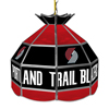 Portland Trail Blazers NBA 16 Inch Stained Glass Lamp
