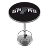 San Antonio Spurs NBA Chrome Pub Table