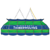 Minnesota Timberwolves NBA 40 Inch Stained Glass Lamp