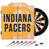 NBA Dart Cabinet Set with Darts and Board - Fade  - Indiana Pacers