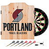 Portland Trail Blazers NBA Wood Dart Cabinet Set