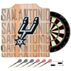 NBA Dart Cabinet Set with Darts and Board - City  - San Antonio Spurs