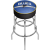 NHL Chrome Bar Stool with Swivel - St. Louis Blues�
