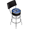 NHL Swivel Bar Stool with Back - St. Louis Blues�