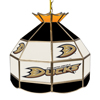 NHL 16 Inch Handmade Stained Glass Lamp - Anaheim Ducks�