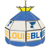NHL 16 Inch Handmade Stained Glass Lamp - St. Louis Blues�
