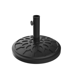 Umbrella Base Outdoor Patio Umbrella Holder, Heavy Weight Holds Up To 1.9? Pole Freestanding, Table, Deck, Balcony, Backyard, Poolside by Pure Garden