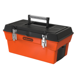 Stalwart Utility Tool Box w/ 7 Compartments & Tray